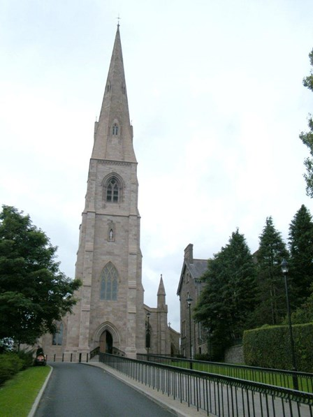 Damp, structural repairs and woodworm treatment undertaken at Holy Trinity Church, Cookstown, Co. Tyrone, NI