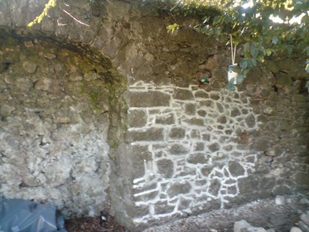 Cintec anchors installed in historic city walls to repair structural cracks, Cashel, Co. Tipperary, Ireland