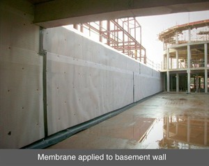 001 waterproofing basement membrane basement tanking cellar belfast dublin cavity drain northern ireland NI
