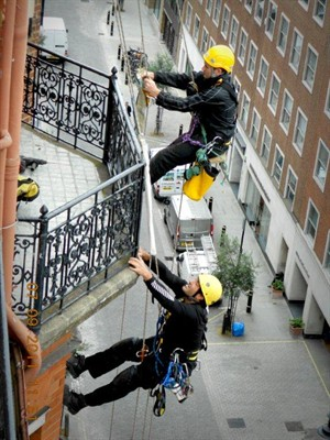 rope access survey IRATA masonry cracks structural repairs london england belfast northern ireland dublin ireland scotland