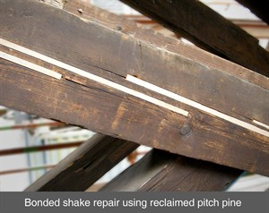 Timber Resin Splice Repair System